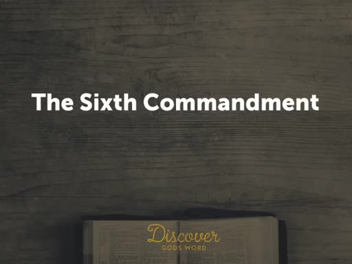 The Ten Comandments #6