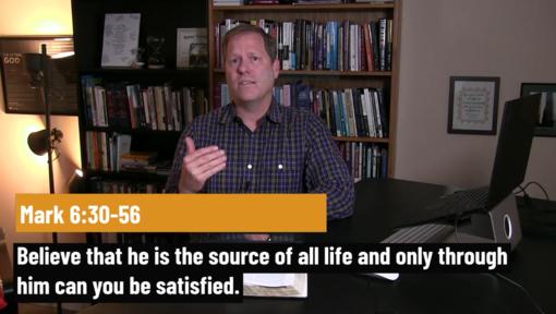 Jesus speaks loudly by doing, but will we believe?