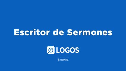 Escritor De Sermones