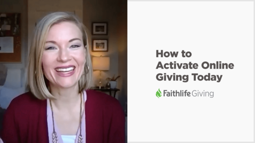 Activate Faithlife Giving Live Q & A