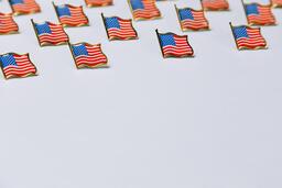 American Flag Enamel Pins  image 4