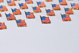 American Flag Enamel Pins  image 3