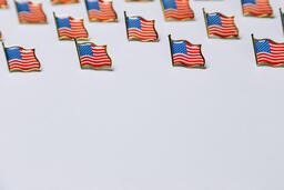 American Flag Enamel Pins  image 14