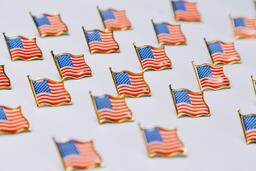 American Flag Enamel Pins  image 12