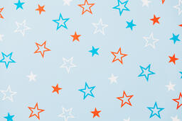 Red White and Blue Paper Stars  image 18