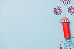 Paper Craft Fireworks  image 1