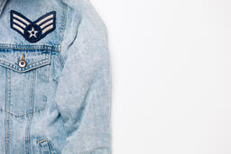 Vote Pin on a Denim Jacket  image 10