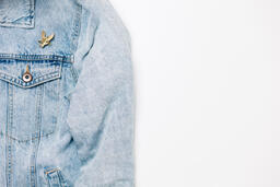 Vote Pin on a Denim Jacket  image 9