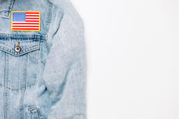 Vote Pin on a Denim Jacket  image 8