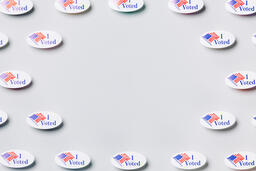 I Voted Stickers  image 1