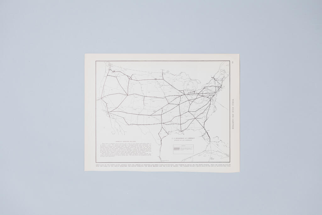 Vintage Map of America large preview