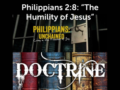 The Humility of Jesus