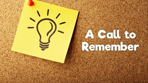 A Call to Remember: Monitor Your Memories