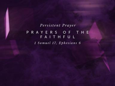 Persistent Prayer