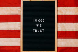 Vintage American Flag  image 4