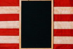 Vintage American Flag  image 2