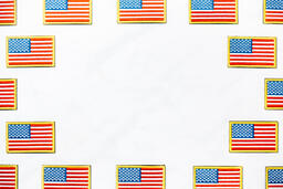 American Flag Patch  image 1