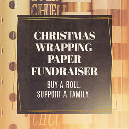Christmas Wrapping Paper Fundraiser  PowerPoint image 4