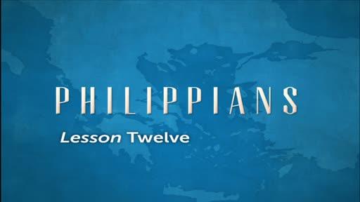 Philippians Lesson 12