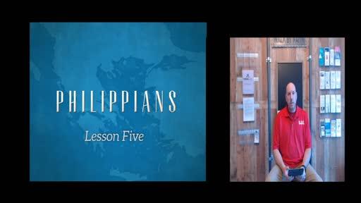 Philippians Lesson 5