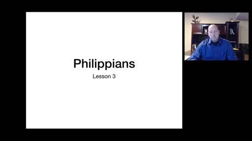 Philippians Lesson 3