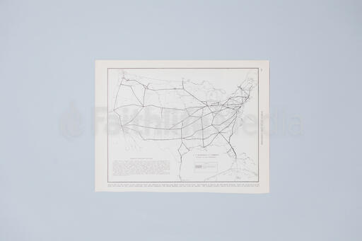 Vintage Map of America
