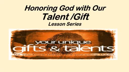 Discovering God's Unique Purpose For Your Life