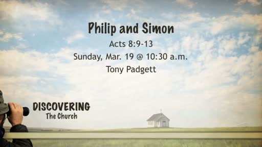 Philip and Simon