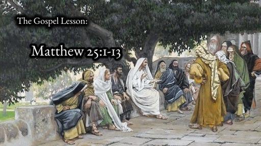 Sunday Nov 8, 2020 Remembrance Pentecost 23