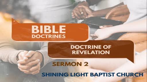 Bible Doctrines - General Revelation - Sermon 2