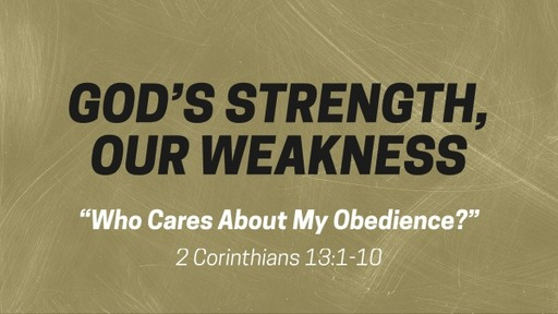 Who Cares About My Obedience?