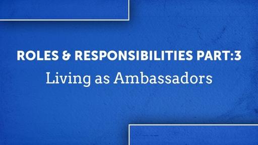Roles & Responsibilities Part:3