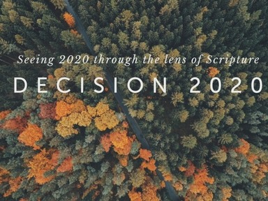 Seeing 2020 Through the Lens of Scripture