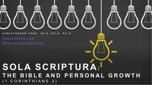 The Bible and Personal Growth