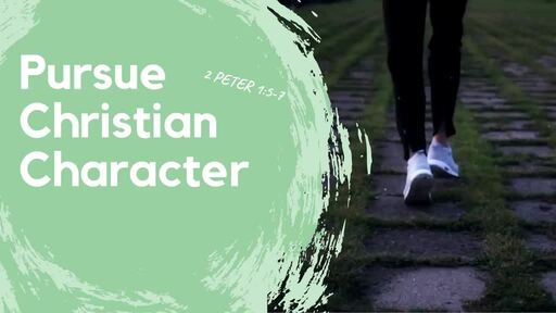 Pursue Christian Character 1 Peter 1:5-7
