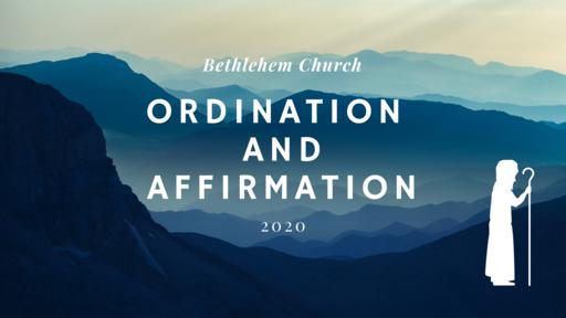 Affirmation & Ordination Service