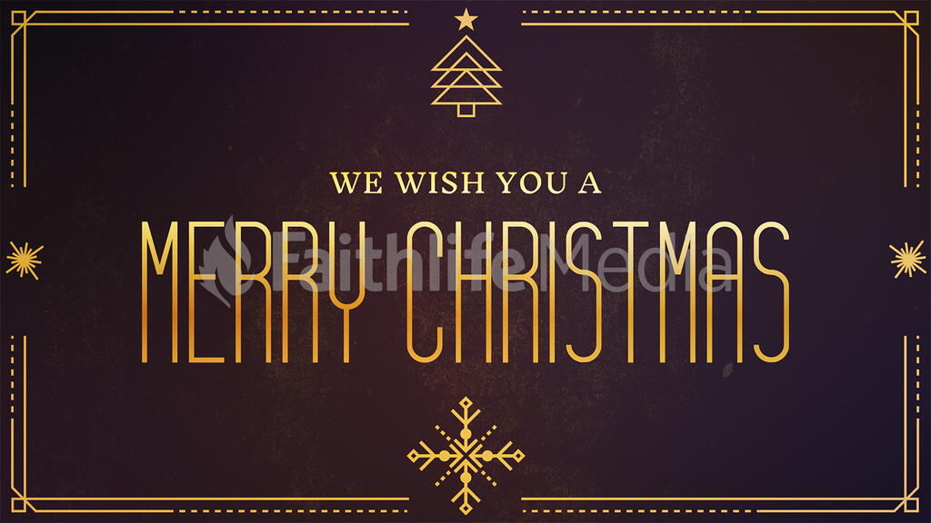 We Wish You A Merry Christmas large preview