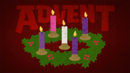 Advent Texture  PowerPoint image 1