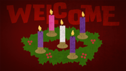 Advent Texture  PowerPoint image 4