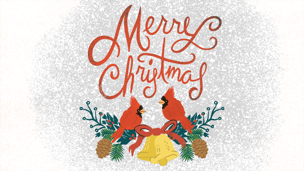 Merry Christmas Cardinal large preview
