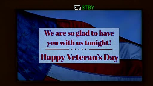 11-11-2020 Wednesday Evening Service - Veteran's Day