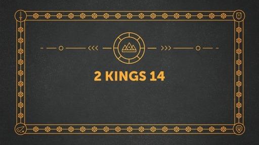 2 Kings 14