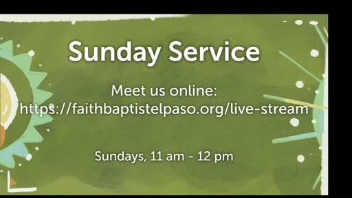 November 11, 2020 Wednesday Service