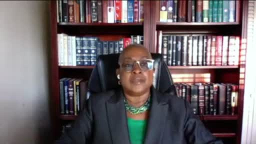 Stay In The Race (Minister Luella Brown)