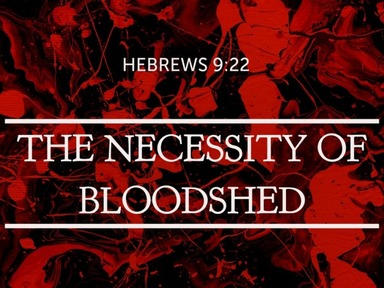 The Necessity of Bloodshed
