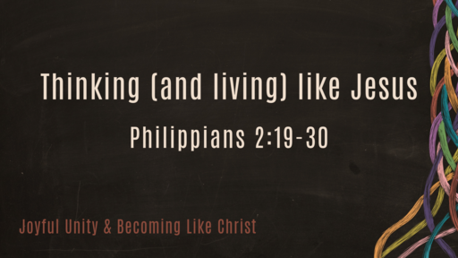 Thinking (and living) Like Jesus