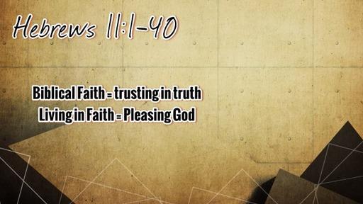 Hebrews 11:30-40