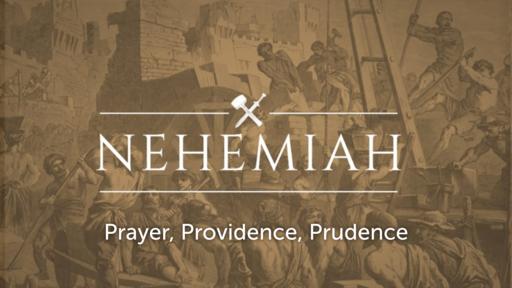 November 15, 2020 - Prayer, Providence, Prudence