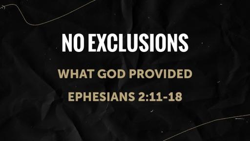No Exclusions