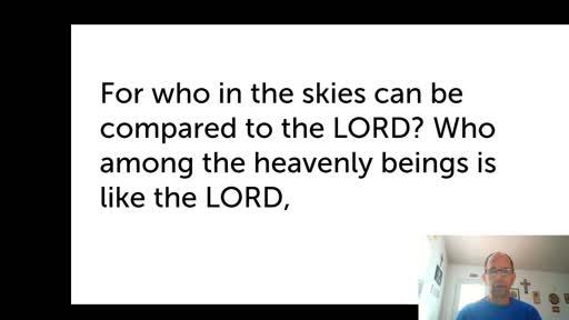 Mon.  Nov. 16,  '20 3rd PPT Psalm 89